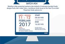 Flyer Amazing Slide / Informasi pelatihan Amazing Slide bersama Pakar Slide Dhony Firmansyah