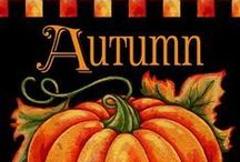 AUTUMN ~ FALL SEASON / My Favorite Time Of The Year ~ I Love The Colors, The Smells In The Air, The Changing Of Temperatures, The Leaves Falling, And Family Around The Thanksgiving Table. The Earth Is Glowing And Just So Beautiful!  / by Val Simich