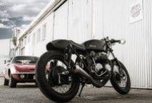 Sutemi Cafe Racer Obsession / Esta Honda CB550 está aligerada, potenciada de motor y mejorada en freno y en suspensiones, … Una Café Racer en estado puro.By CRO Motorcycles.