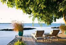 """Mauritius: home / You can never go """"home"""" again, but the truth is you can never leave """"home"""", so it is all right - Maya Angelou"""