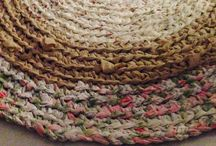 Crochet Floor Rugs / Up cycle old sheets and make these wonderful heirloom floor rugs.