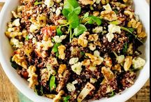 Grain Salads / Grain salads are healthy, filling and make the ideal main meal salad. Farro, brown rice and quinoa salads galore.