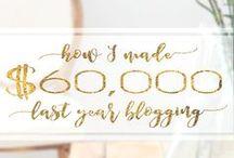 Blogging Income / How to make money blogging, blogging income
