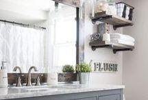 Oh Hey, Bathroom of My Dreams / rustic farmhouse bathroom decor and style, bathrom renovations