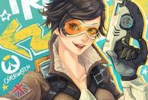 Overwatch / A very good game! Nice characters too!