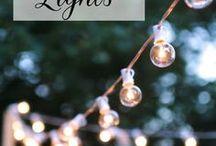 The Yard of my Dreams / Backyard ideas, outdoor lighting, outdoor entertaining