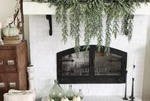Fall Decor / Fall home decorations, crafts, mantles, and more! Thanksgiving decor