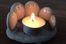 DIY light/candle deco