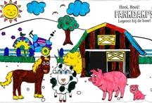 FarmCamps Kleurwedstrijd Finalisten 2012 / Met trots presenteren we de finalisten uit onze 2012 kleurplaatwedstrijd. We hebben meer dan 500 inzendingen ontvangen. Stem (like) op je favoriete kleurplaat op facebook.com/farmcamps of hier op pinterest! De kunstenaar met de meeste likes op 4 oktober kunnen wij dan verassen met een weekend FarmCamps tijdens de herfst vakantie! Hooi Hooi!