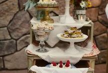 Ideas for Sweets Table