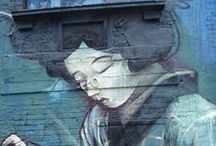 Graffitis y Arte en la calle / Me encanta el arte en la calle... estos son de los sitios visitados