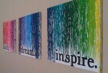 DIY Ideas - Wall art