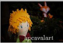 Pequeno Príncipe by APCavalari / boneco pequeno príncipe feito por apcavalari