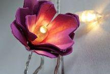 DIY Ideas - Lights, candles and lanterns