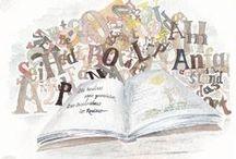 Buchland / Das Bilderbuch zu den Romanen