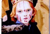ELIZABETH PEYTON / Works by painter Elizabeth Peyton / by Vee Timmons