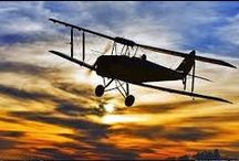 planes and tattoos / inspiration for biplane tattoo, based on my dad's first airplane the Havilland Tiger Moth