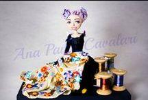 Art Doll, Cloth doll,
