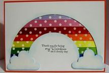 Cards with ribbon / Handmade greetings cards that feature ribbon