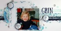 Scrapbook Layouts with Ribbon / scrapbook layouts that feature ribbon