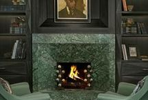 Fireplace / Warm atmosphere full of style