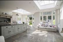 ORANGERIES / We have an enormous amount of experience building conservatories and bespoke orangeries.   See more at http://www.tvwindows.com/living-spaces/orangeries