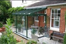 GLASS ATRIUMS / Solarlux Glass Atriums add a fantastic indoor/outdoor space to your home which will enable you to enjoy your garden regardless of the British weather!   See more at http://www.tvwindows.com/living-spaces/solarlux-glass-atriums