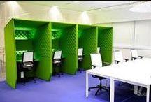 Groen in projecten / Groen is de kleur van de natuur. Het werkt ontspannend en verzachtend en geeft nieuwe kracht en energie. Daarnaast staat het voor harmonie en evenwicht. Groen is vooral geschikt voor de keuken, maar kan eigenlijk voor elke kamer gebruikt worden. Kies dan wel voor zachte tinten. (bron: interieurdesign.nu)