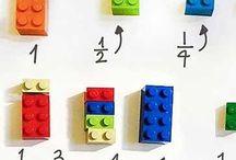 Leren met LEGO / Hoe maak je leren leuk? Door het gebruik van LEGO. Op dit bord vind je handige tips en reviews van materialen.