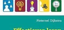 Leren leren *Kaartjes* / Hoe kun je kinderen leren leren? Dit bord staat vol met praktische tips om leerstrategieën aan te leren.