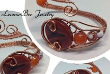 LeonorBee Jewelry / Wire wrapped copper Jewels