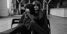 ELEGANCE & ROCK'N'ROLL / Inspired by free people: Jane Birkin, Sophie Morseau, Brigitte Bordeaux.