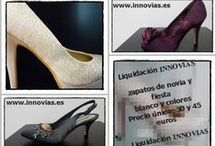 Zapatos de novia Innovias / #zapatos de #novia para pisar con estilo el día de la boda #innovias #vestidos