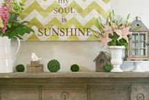 creative decorating ideas / by Melissa Ferrell