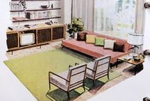 Vintage & retro interiors