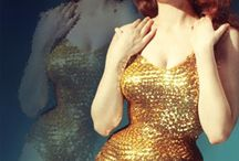 Dressed in gold