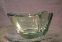 Helena Tynell, glass artist (1918-) / Finnish glass, Riihimäen Lasi Oy