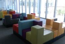 Library / Photos of select library environments that have chosen to install Cellular™ modular furniture.