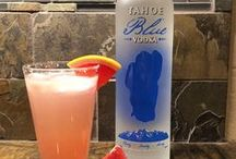 Tahoe Blue Recipes & Pairings / Tasty drink recipes to make at home featuring Tahoe Blue Vodka!