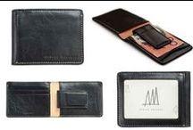 Men's Wallet / Modern Contemporary Affordable Designer Gifts for Men.