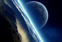 O Espaço rumo as estrelas / O universo
