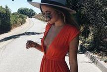 Summer / clothing, style, fashion, t-shirts, shorts, hats, sunglasses, sun