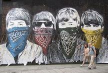 Murales and street art