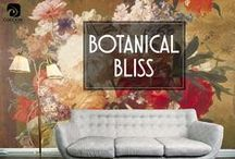 Botanical Bliss / It's hard to talk about florals as a single category because, like flowers themselves, each pattern has its own personality, determined by style, size, and color.