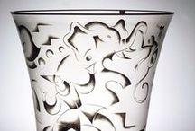 Vicke Lindstrand (1904-83),Swedesh designer and glass artist