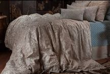 Mozart Earth with Champagne / The Mozart Earth with Champagne bedding collection from Lili Alessandra's 2015 catalogue.