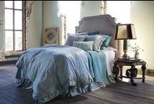 Mackie Taupe with Seafoam / The Mackie Taupe with Seafoam bedding collection from Lili Alessandra's 2015 catalogue