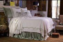 Marci Antique White with Ice Velvet / The Marci Antique White with Ice Velvet bedding collection from Lili Alessandra's 2015 catalogue