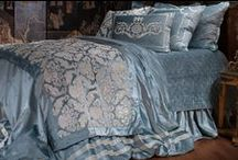Versailles Ice Blue Bedding / The Versailles Ice Blue Bedding bedding collection from Lili Alessandra's 2015 catalogue