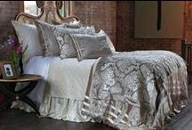 Angie Champagne Velvet Bedding / The Angie Champagne Velvet Bedding collection from Lili Alessandra's 2015 collection